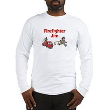 Firefighter Jim Long Sleeve T-Shirt