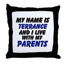 my name is terrance and I live with my parents Thr
