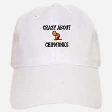 Crazy About Chipmunks Baseball Baseball Cap