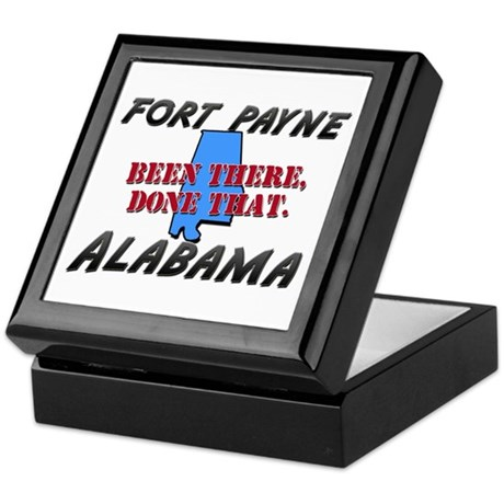 fort payne alabama - been there, done that Keepsak