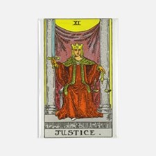 """Justice"" Rectangle Magnet"