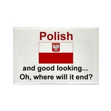 Good Looking Polish Rectangle Magnet