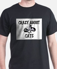 Crazy About Cats T-Shirt