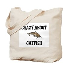 Crazy About Catfish Tote Bag