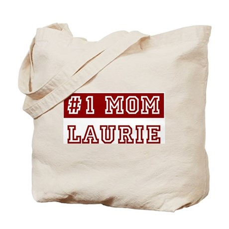 Laurie #1 Mom Tote Bag