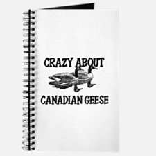Crazy About Canadian Geese Journal