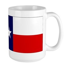 Large Texas Flag Coffee Mug