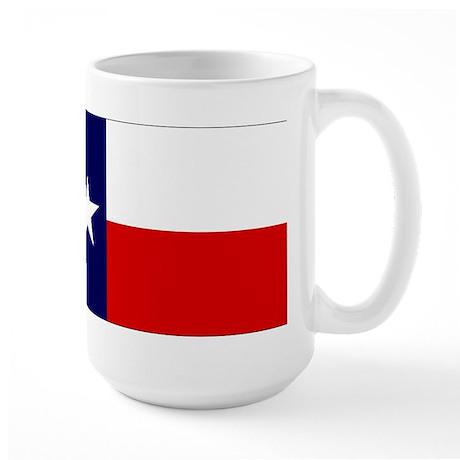 Large Texas Flag Coffee Mug
