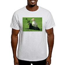 Labrador Retrievers Ash Grey T-Shirt