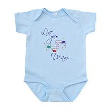 Live Your Dream Infant Bodysuit