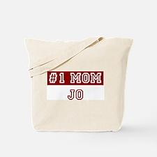 Jo #1 Mom Tote Bag