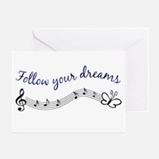 Follow Your Dreams Greeting Card
