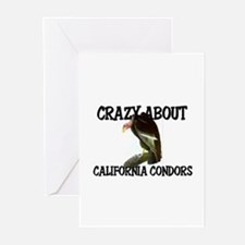 Crazy About California Condors Greeting Cards (Pk