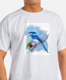 Blue Jay Ash Grey T-Shirt