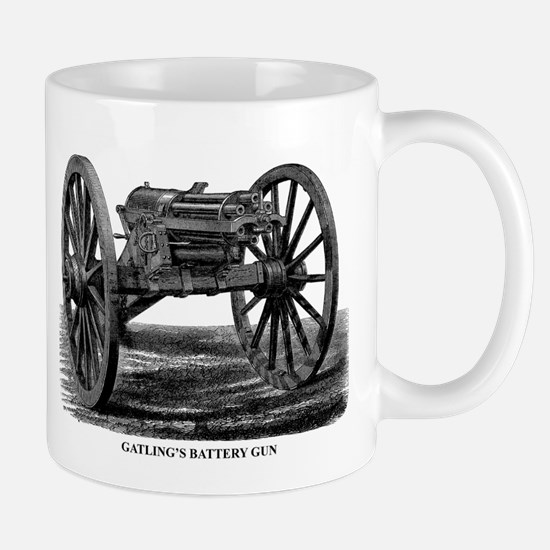 Gatling's Battery Gun Mug