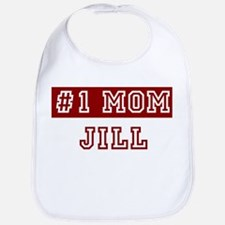 Jill #1 Mom Bib