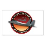Air Superiority Rectangle Sticker
