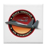 Air Superiority Tile Coaster