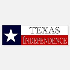 Texas Independence Bumper Bumper Bumper Sticker