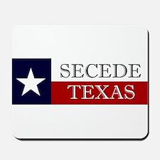 Secede Texas Mousepad