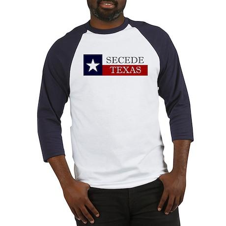 Secede Texas Baseball Jersey
