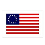 Betsy Ross Flag Postcards (8)