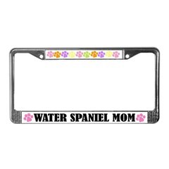 Water Spaniel Mom License Plate Frame
