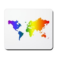 Gay Pride All Over the World Mousepad