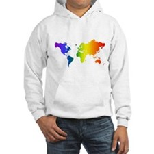 Gay Pride All Over the World Hoodie