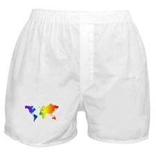 Gay Pride All Over the World Boxer Shorts