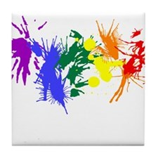 Pride Paint Tile Coaster