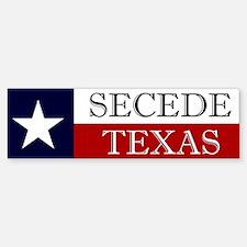 Secede Texas Bumper Bumper Bumper Sticker