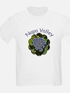 Napa Grapes - Kids T-Shirt