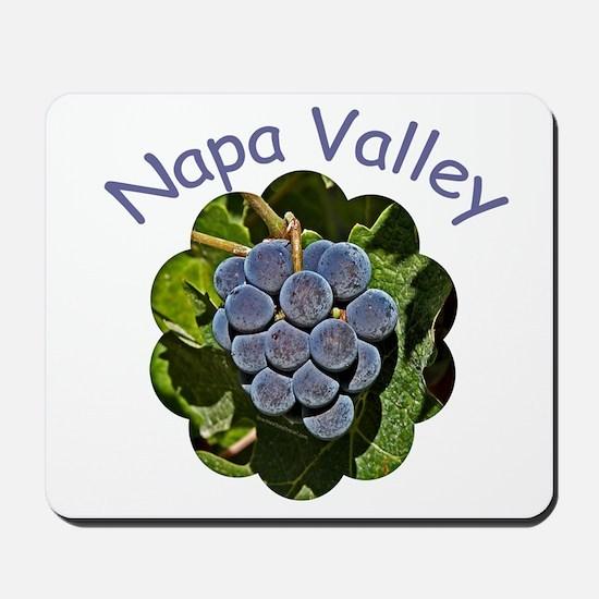 Napa Grapes - Mousepad