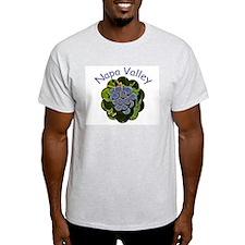 Napa Grapes - Ash Grey T-Shirt