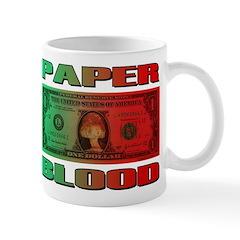 Paper Blood Mug