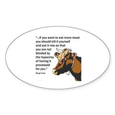 Kill It Yourself Oval Decal