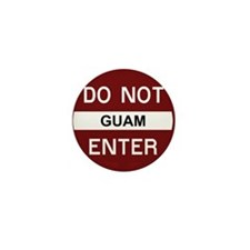 Cute Guam Mini Button