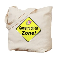 (Baby) 'Construction Zone' Tote/Hospital Bag