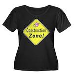 (Baby) 'Construction Zone' Women's Plus Size Scoop