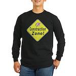 (Baby) 'Construction Zone' Long Sleeve Dark T-Shir