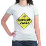(Baby) 'Construction Zone' (2-Sided) Jr. Ringer T-