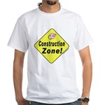 (Baby) 'Construction Zone' White T-Shirt