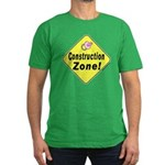 (Baby) 'Construction Zone' Men's Fitted T-Shirt (d