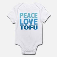 Peace Love Tofu Infant Bodysuit