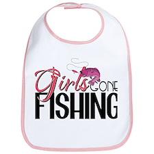 Girls Gone Fishing Bib