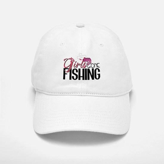 Girls Gone Fishing Baseball Baseball Cap