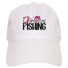Girls Gone Fishing Baseball Cap