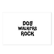 DOG WALKERS ROCK Postcards (Package of 8)