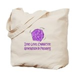 0-Level Character Generation Tote Bag